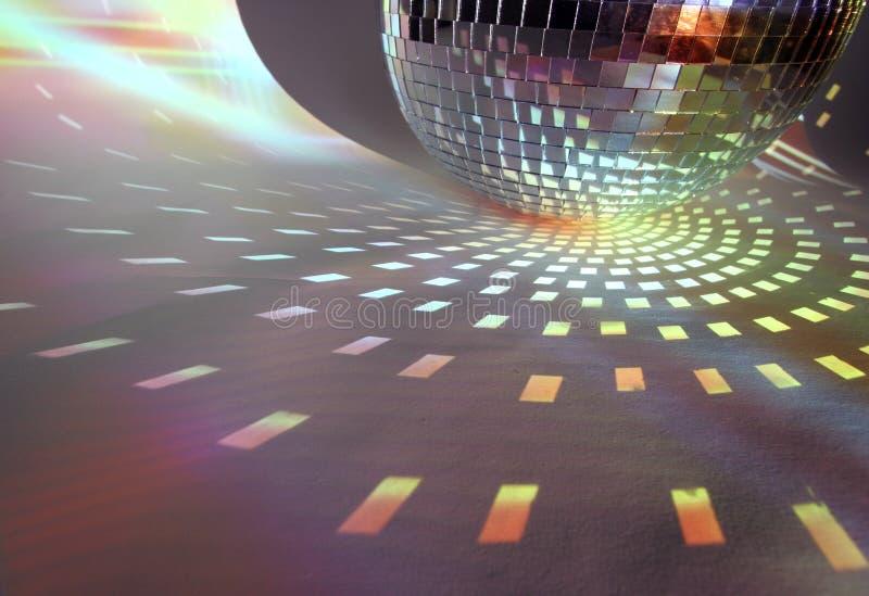 discoball światła obraz stock