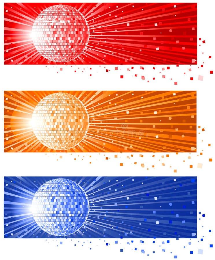 Discoball_ illustration de vecteur
