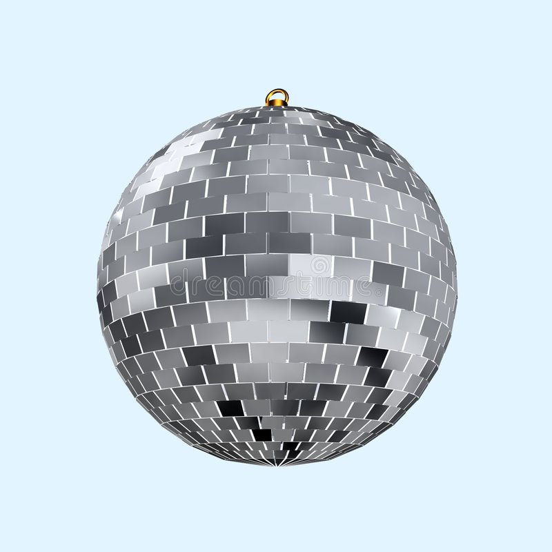 Discoball illustration libre de droits