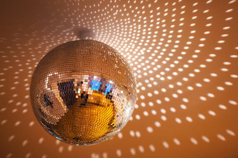 DISCOBALL royalty free stock photo