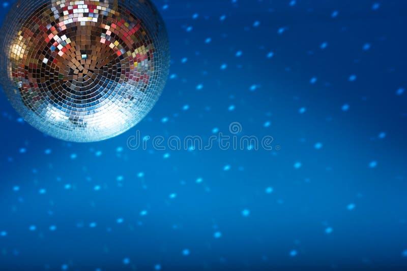 Discoball in nachtclub royalty-vrije stock fotografie