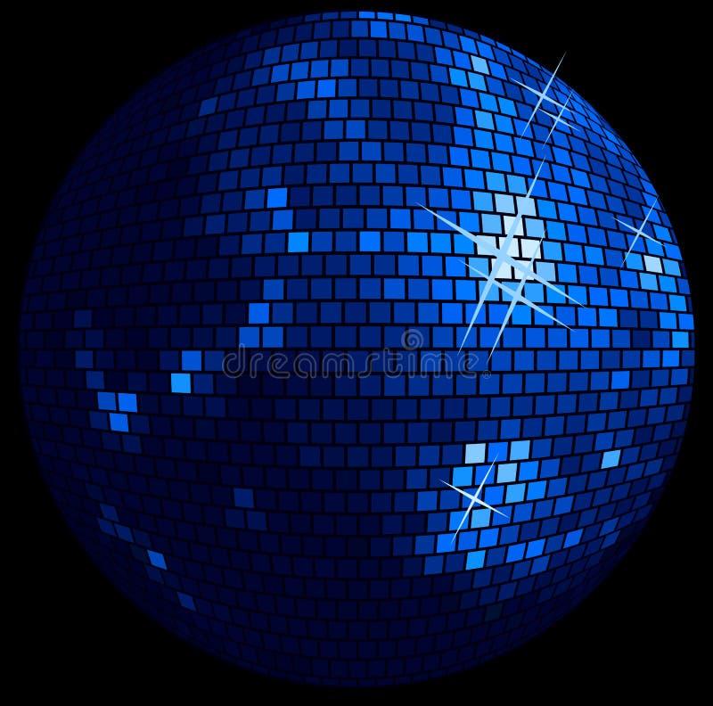 Discoballhintergrund vektor abbildung