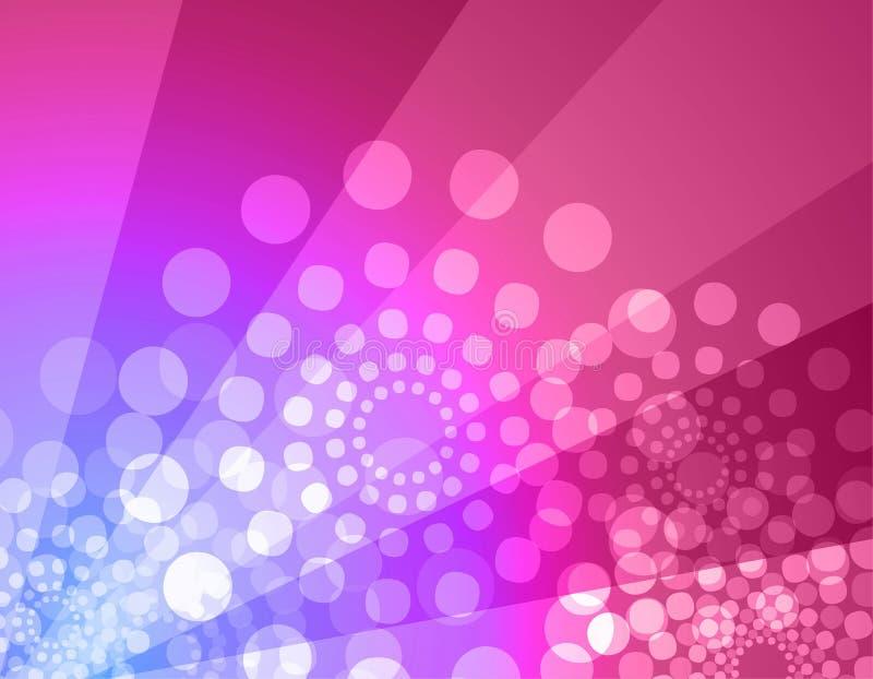 Discohintergrund - Rosa u. Veilchen lizenzfreie abbildung