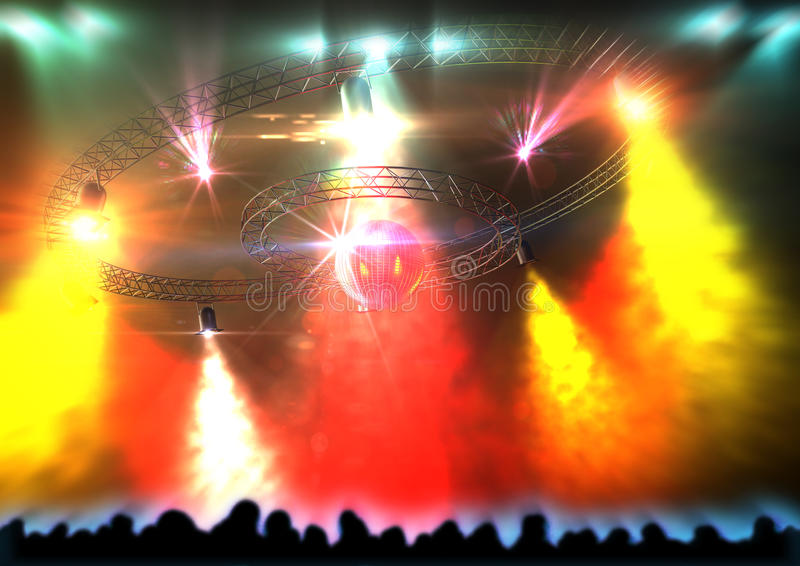 Download Discolight stock illustration. Image of circle, discotheque - 22823278