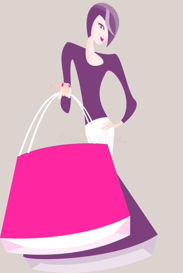 Disconto da compra ilustração royalty free