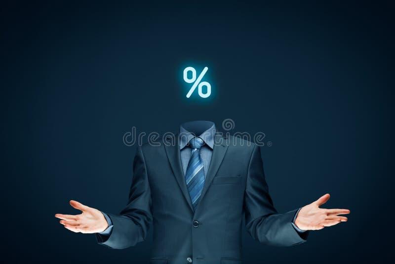 Disconto e venda imagem de stock