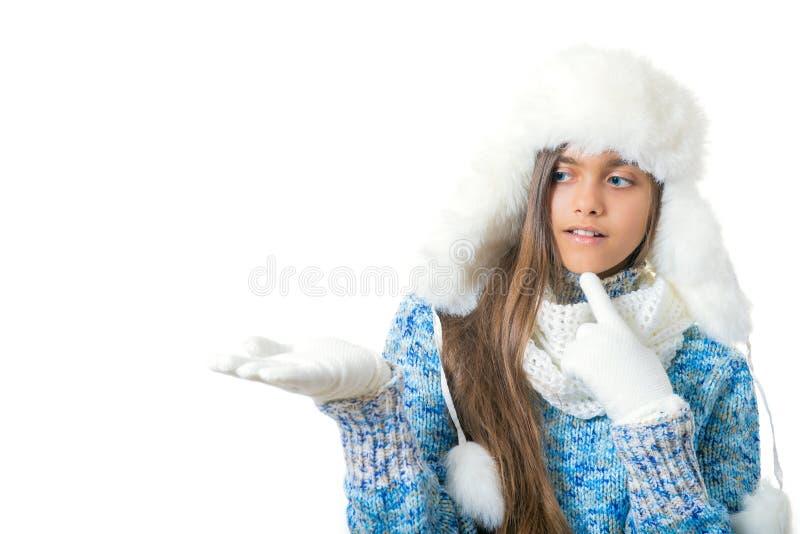 Discontos do inverno Lugar para o texto imagens de stock royalty free