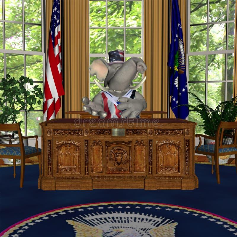 Discorso del GOP illustrazione di stock
