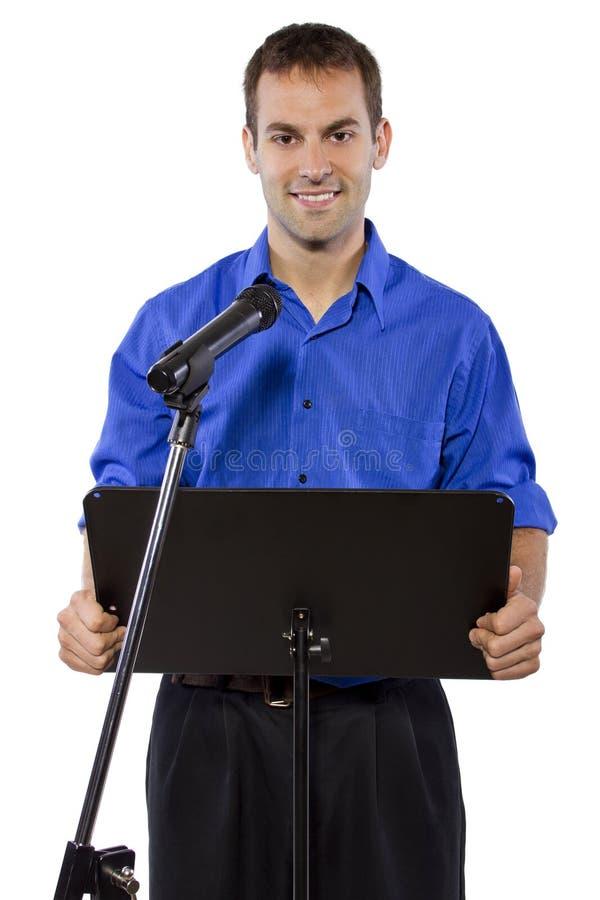 Discorso pubblico immagini stock