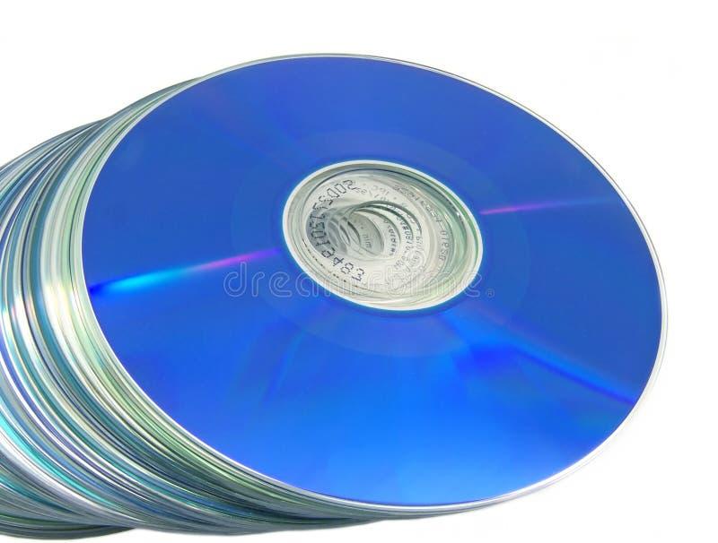 Discos ópticos 03 fotografia de stock royalty free