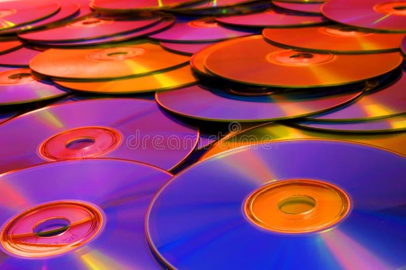 Discos de CD/DVD imagens de stock royalty free
