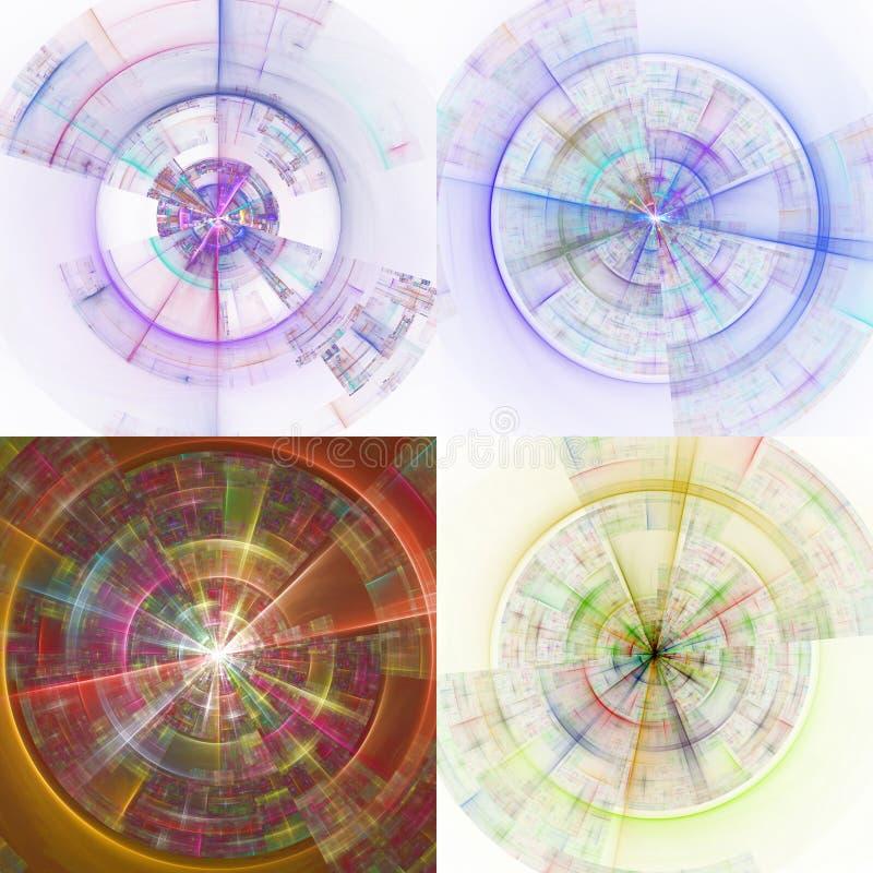 Discos de la tecnología foto de archivo libre de regalías
