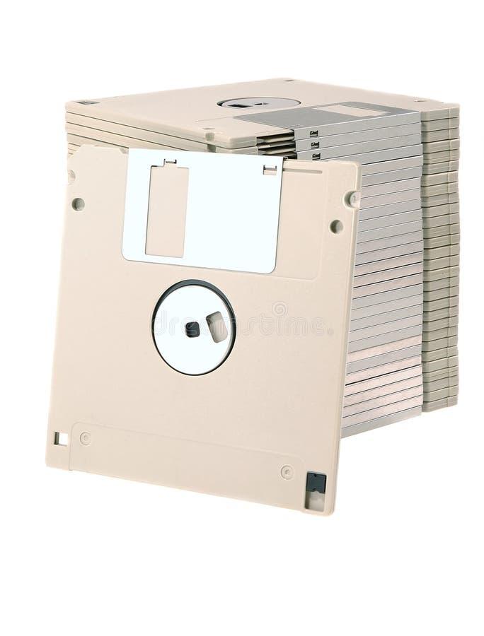 Discos flexíveis imagem de stock