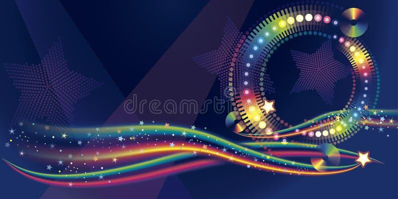 Discoteca illustrazione vettoriale