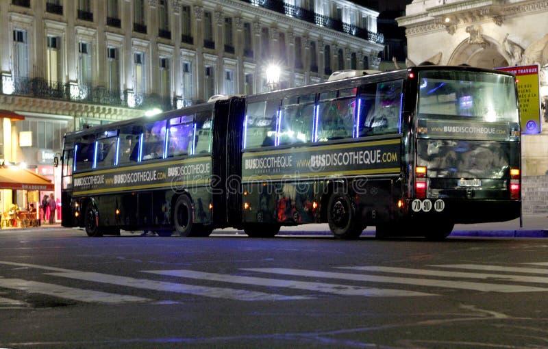 Discoteca do ônibus foto de stock royalty free