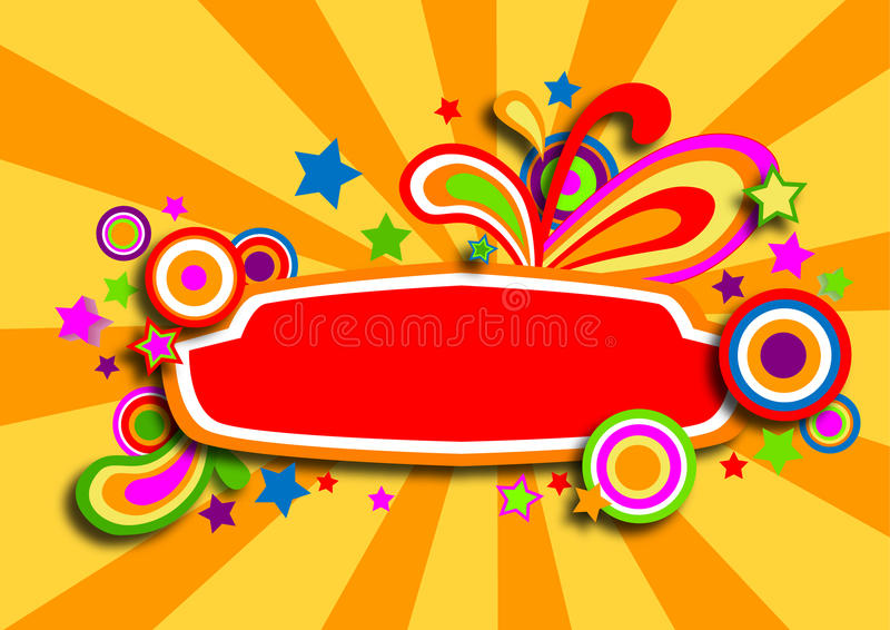 Download Discotheque Colorful Banner With Stars Stock Vector - Image: 14553983