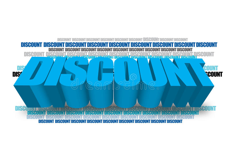 Discount graphics royalty free illustration