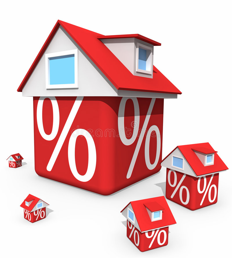 Download Discount stock illustration. Image of financial, mortgage - 7981361