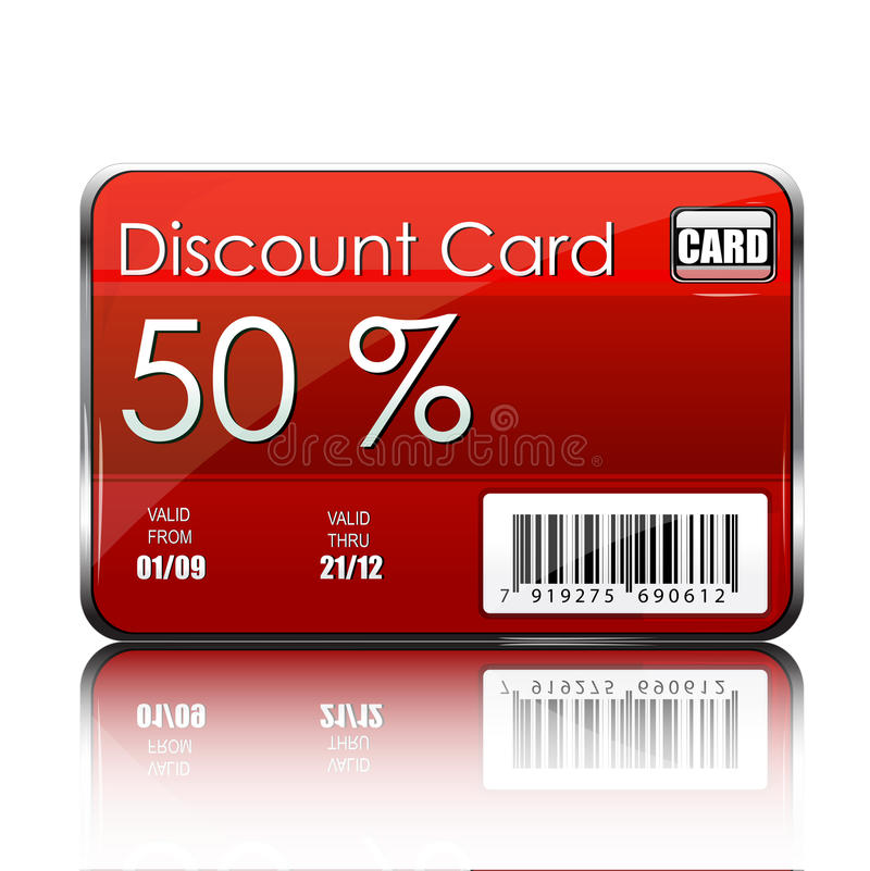 Free Discount Card Royalty Free Stock Photo - 17548005