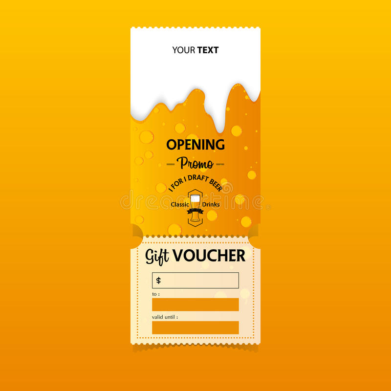 Discount gift vouchers template design for opening beer party download discount gift vouchers template design for opening beer party special offer or certificate coupons yadclub Gallery