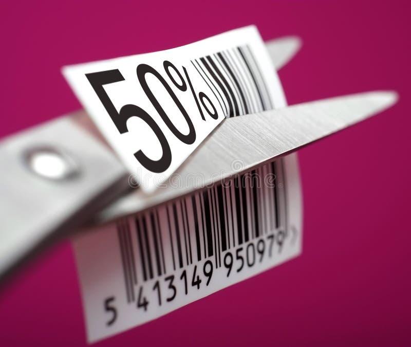 Discount of half price