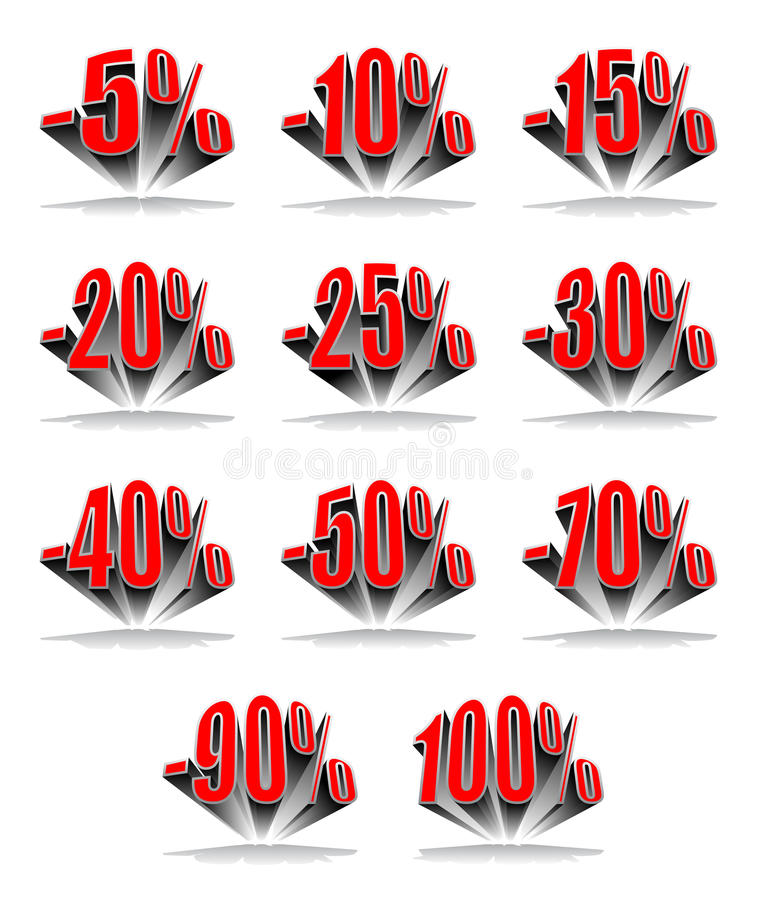 Download Discount Percentage Stock Photo - Image: 20608730