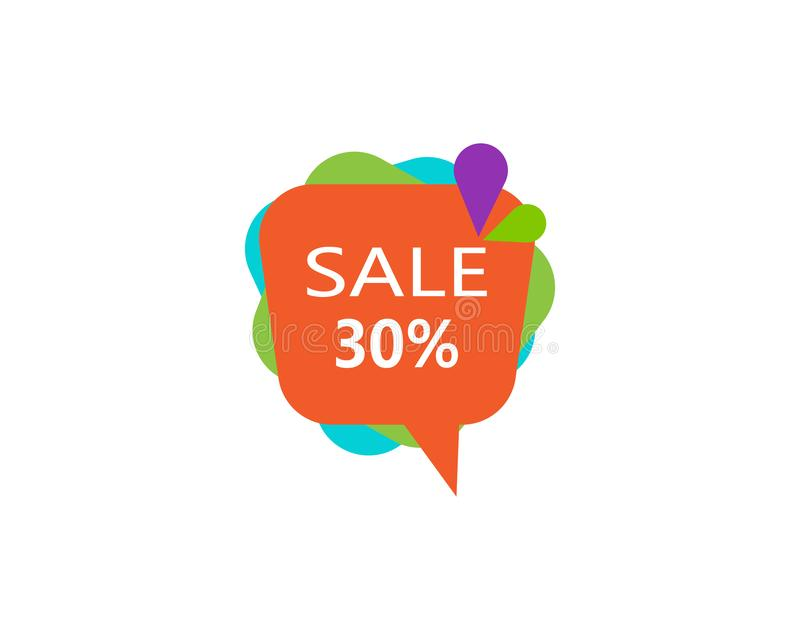 Discount price sale bubble banners.price tags label. Special offer flat promotion sign. Bannersprice royalty free stock images