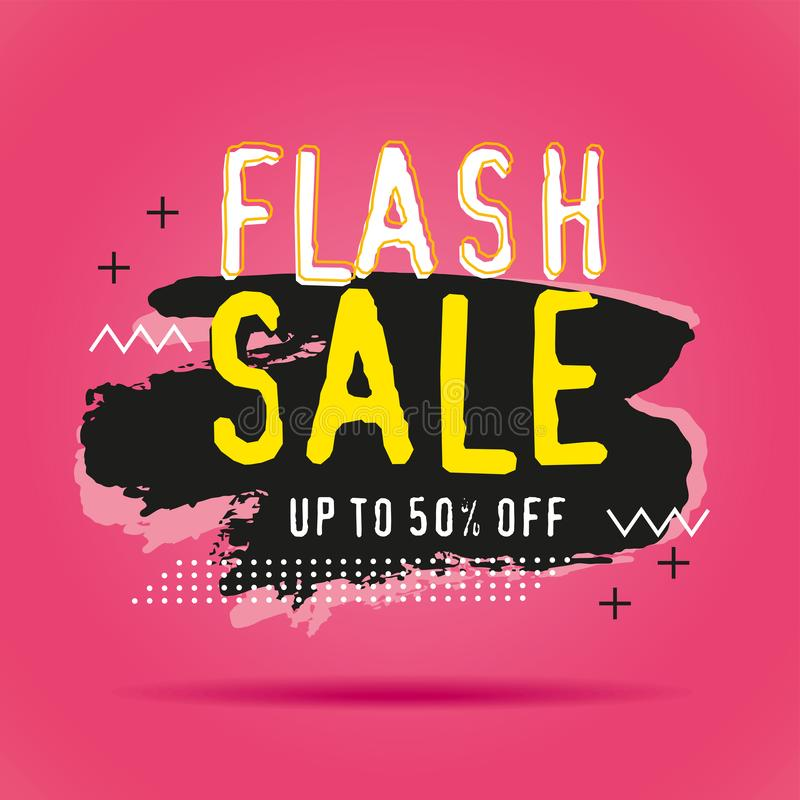 Discount sale banners template royalty free illustration