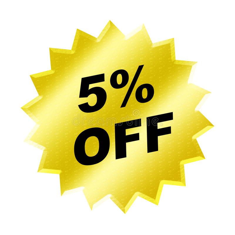Discount sign vector illustration