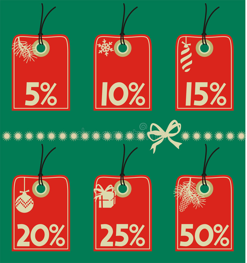 Download Discount tags stock vector. Image of number, retail, discount - 3561925