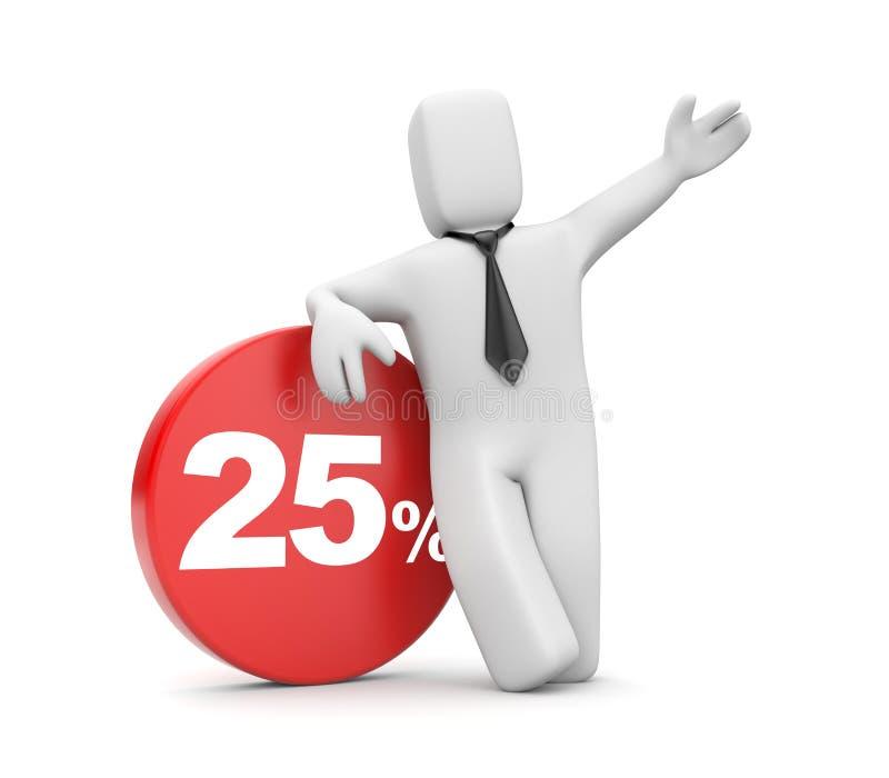 Discounts stock illustration