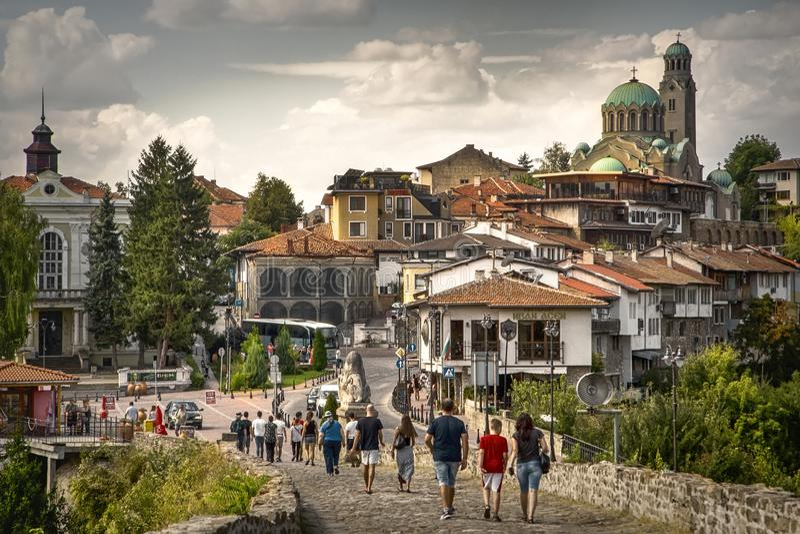 Discover the best Sightseeing in Veliko Tarnovo, Bulgaria royalty free stock photos