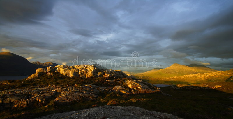 discover scotland στοκ εικόνα με δικαίωμα ελεύθερης χρήσης