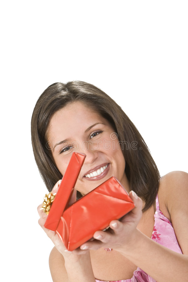 Download Discovering a surprise stock photo. Image of expression - 7644308