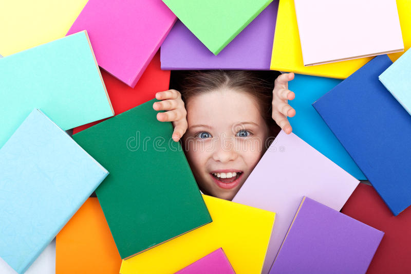 Discovering The Wonderful World Of Knowledge Royalty Free Stock Images