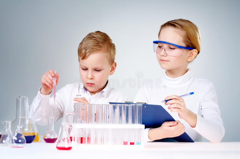 Download Discovery stock image. Image of flask, analyzing, assistant - 18591837