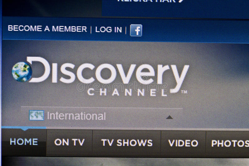 Discovery Channel Editorial Stock Photo
