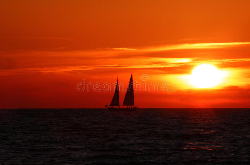Discovery at Dawn royalty free stock photography