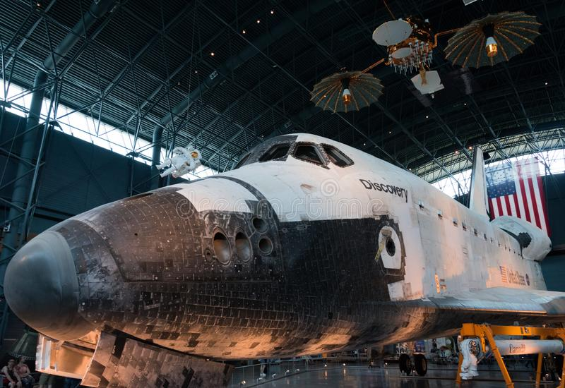 Discovery NASA space shuttle royalty free stock image