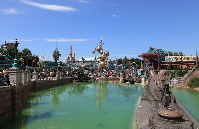 Discoveryland dans Disneyland Paris photo stock