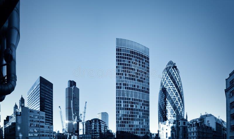 discrict finansiella london arkivfoto