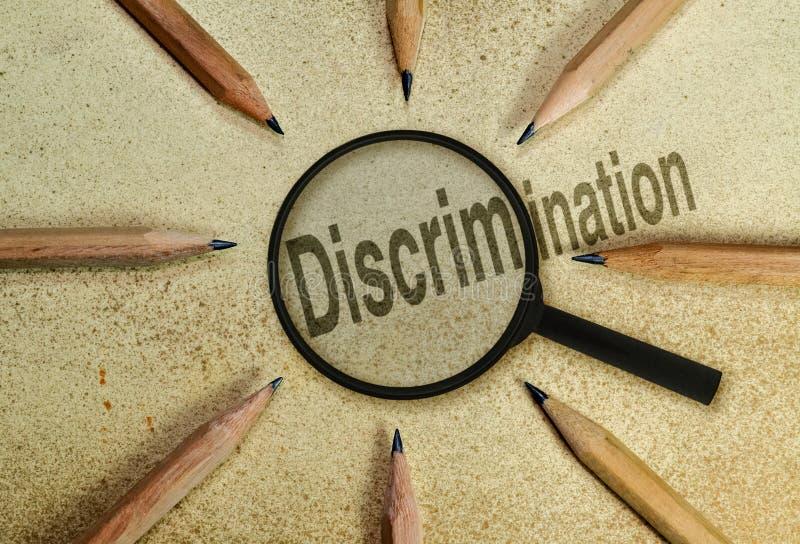 discrimination photos libres de droits