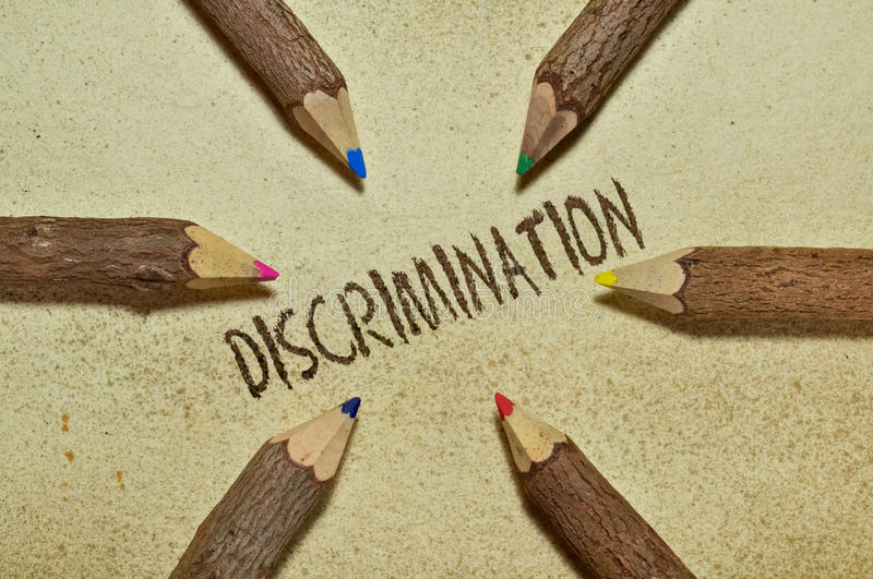 discrimination images stock