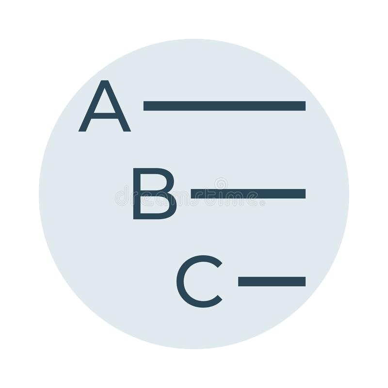 Discrimination raciale d'alignement icône illustration de vecteur