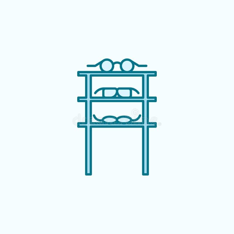 discrimination raciale icône du service de vente 2 en verre Illustration simple d'élément coloré conception de symbole d'ensemble illustration de vecteur