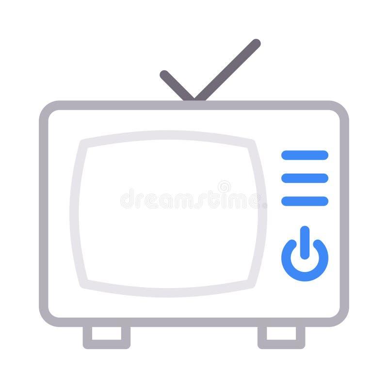 Discrimination raciale mince d'antenne icône de vecteur illustration libre de droits