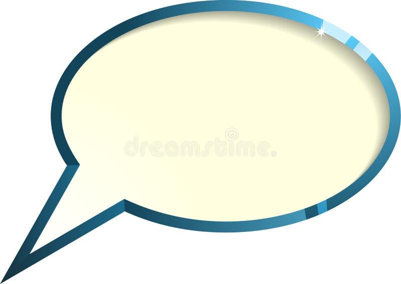 Discurso ilustração do vetor