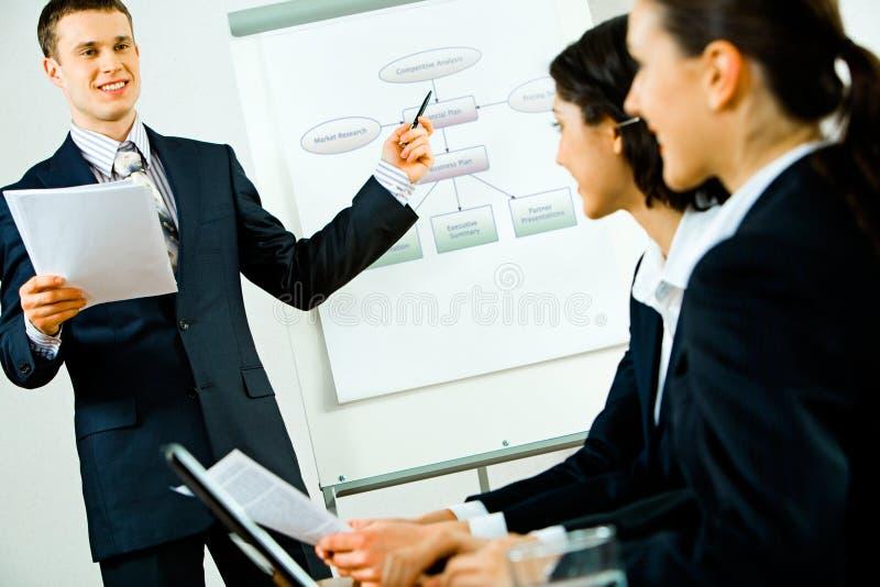 Discurso do negócio imagens de stock