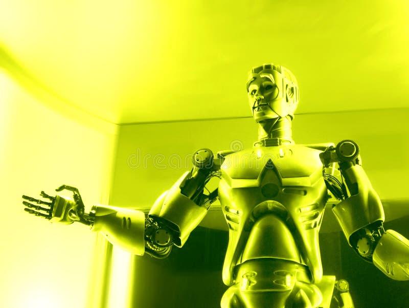 Discurso do robô foto de stock royalty free
