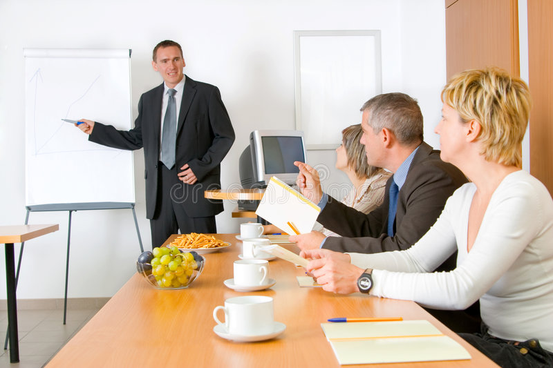 Discusion - Conference stock images